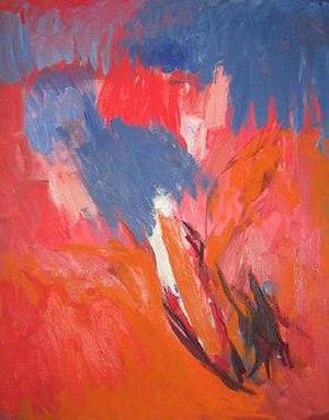 Ethel Schwabacher - Warm Rain I, 1959, by Ethel Schwabacher