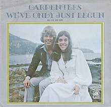 Image result for the carpenters we've only just begun images