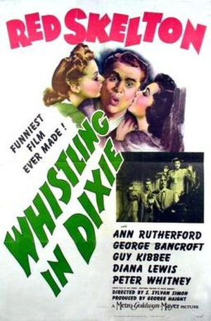 Whistling in Dixie - Image: Whistling in Dixie Film Poster