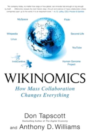 Wikinomics - Front cover of Wikinomics