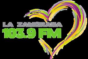 XHEZM-FM - Image: XHEZM La Zamorana 103.9 logo