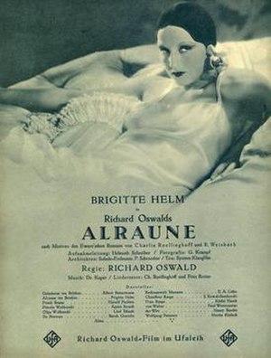 """Alraune (1930 film) - Image: """"Alraune"""" (1930 film)"""