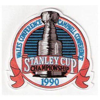 1990 Stanley Cup Finals - Image: 1990 NHL Playoffs