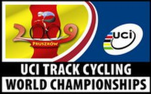 2009 UCI Track Cycling World Championships - Image: 2009 UCI Track Cycling World Championships logo
