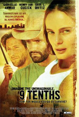 9/Tenths - Theatrical release poster