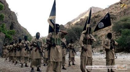 AQAP fighters in Yemen, 2014