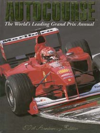 Autocourse - The 50th anniversary edition of Autocourse, covering the 2000 season. Pictured on the cover is Michael Schumacher.