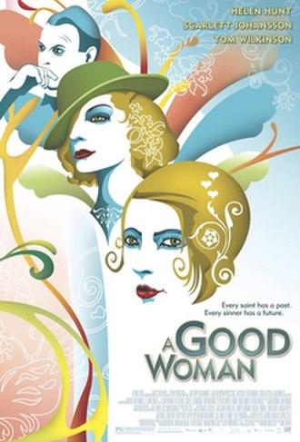 A Good Woman (film) - Original theatrical poster