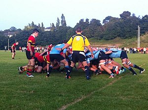 C.B.C. Monkstown - A rugby match at Monkstown Park, September 2014