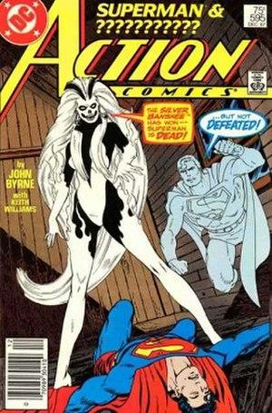 Silver Banshee - Image: Action Comics 595