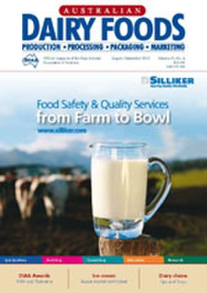 Australian Dairy Foods - Image: Adf aug 2010 cover