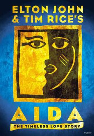 Aida (musical) - Logo from the Broadway production