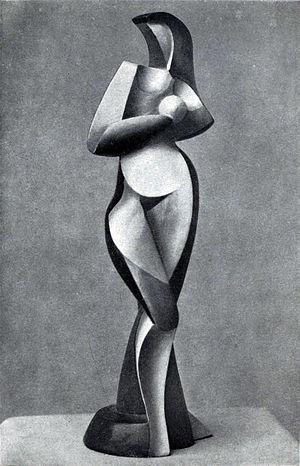 Alexander Archipenko - Statuette, 1916