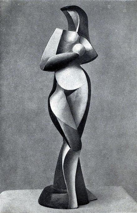 Aleksandar Arhipenko 440px-Alexander_Archipenko,_Statuette,_1916