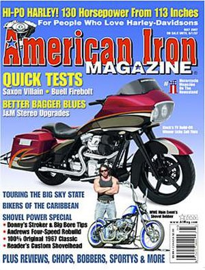American Iron Magazine - American Iron Magazine, cover dated May 2007