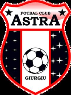 FC Astra Giurgiu Association football club in Giurgiu