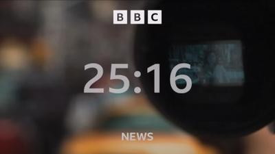 BBC News channel countdown