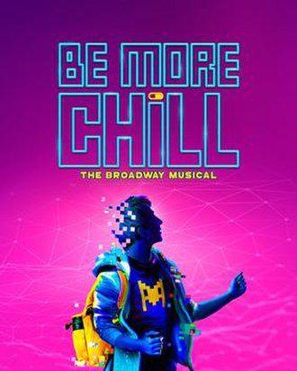 Be More Chill (musical) - Broadway promotional poster