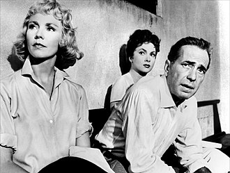 Beat the Devil (film) - Film still image of Jennifer Jones, Gina Lollobrigida and Humphrey Bogart