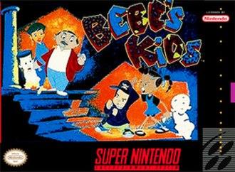 Bebe's Kids (video game) - Cover art