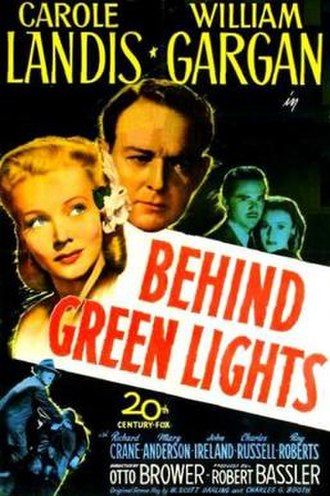 Behind Green Lights - Theatrical release poster