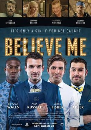 Believe Me (film) - Theatrical release poster