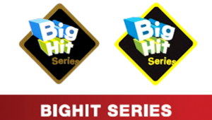 BigHit Series - Official BigHit Series badges and banner used on PlayStation game covers.