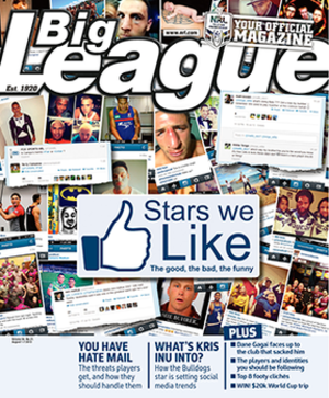 Big League - Volume 94. No. 21 of Big League