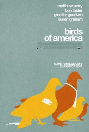 Birds of America (film) - Theatrical release poster