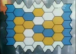 Blockbusters (UK game show) - Screenshot from the 1987–95 titles showing the game board without letters