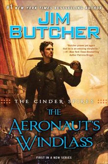 Book cover of The Aeronaut's Windlass.jpg