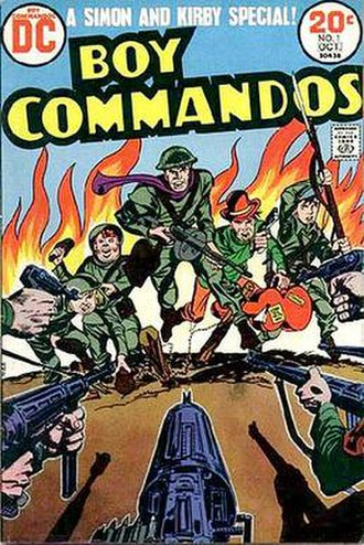 Boy Commandos - Image: Boy Commandos Issue 1 (reprint) 1973