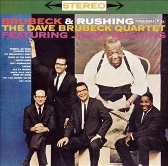 Brubeck and Rushing - Image: Brubeck Rushing