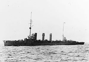 SMS Bremse - Image: Brummer class cruiser