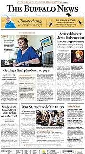 <i>The Buffalo News</i> newspaper