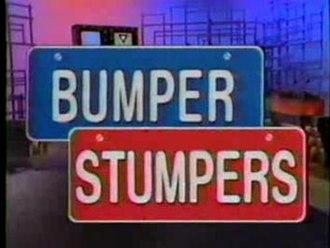 Bumper Stumpers - Bumper Stumpers title card