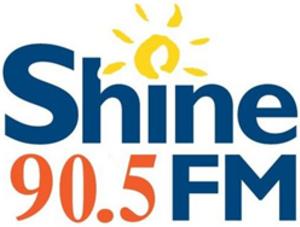 CKRD-FM - Image: CKRD Shine 90.5FM logo