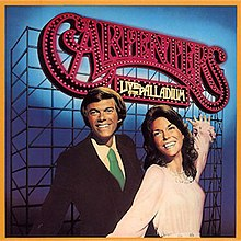 Live at the Palladium (The Carpenters album) - Wikipedia