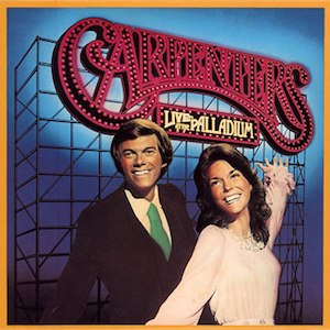 Live at the Palladium (The Carpenters album) - Image: Carpenters Live Palladium