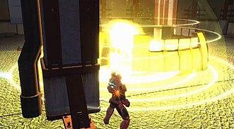 Champions Online - Gameplay screenshot