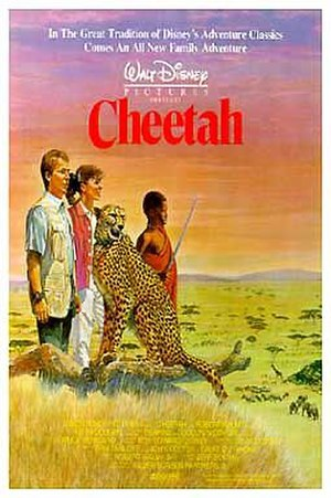 Cheetah (1989 film) - Theatrical release poster