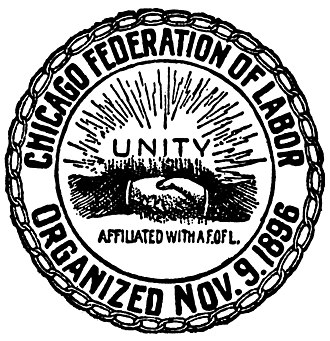 Chicago Federation of Labor - Image: Chicago Fed Labor logo