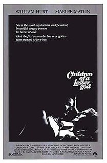<i>Children of a Lesser God</i> (film) 1986 film by Randa Haines