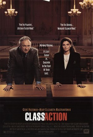 Class Action (film) - Theatrical release poster