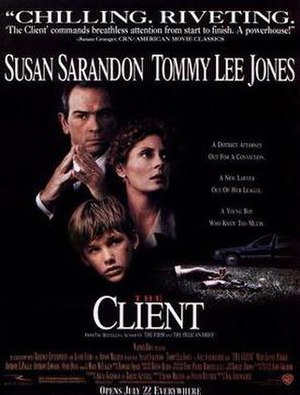 The Client (1994 film) - Theatrical release poster