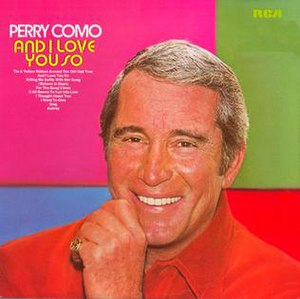 And I Love You So (Perry Como album) - Image: Como Loves You So