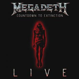 Countdown to Extinction: Live - Image: Countdown Live