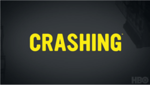 Crashing (U.S. TV series) - Series title card.