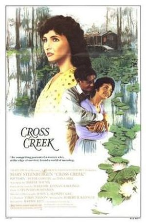 Cross Creek (film) - Promotional movie poster for Cross Creek