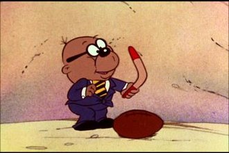 "Danger Mouse (1981 TV series) - Penfold in ""The Odd Ball Runaround""."